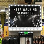 USA WINE TRADERS_SECAUCUS_JOHNNIE WALKER ENDCAP SIGN_AMJ17 INSTALL PHOTO